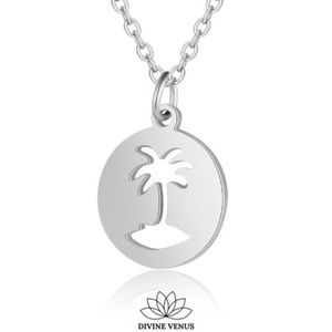 Palm Tree 🌴 Necklace | Stainless Steel